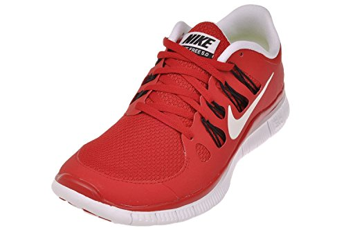 new concept 2cac5 886c5 Nike Men's Free 5.0+, Game Red/White-Black 579959-600 Size 9 | $89.99 - Buy  today!