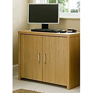 Pure office hideaway workstation computer desk table for Hideaway home office