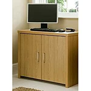 Pure Office Hideaway Workstation Computer Desk Table