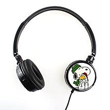 buy Snoopy 1Fsnp026 Earphone Headphone Fashion Cartoon Stereo Sound