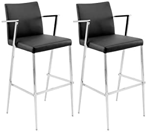 Lumisource BS-JMB-HITCH Hitchcock Set of 2 Barstools