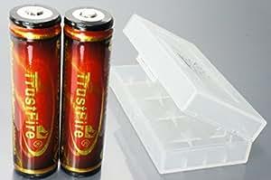 電池ケース (TrustFire 18650 3000mAh 2本付) 《メーカー直輸品》