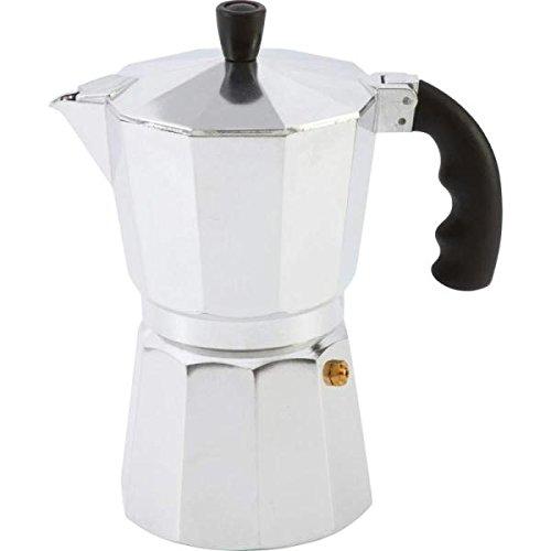 Chef KTESPMKA Aluminum Stovetop Espresso Maker, 6 Cup