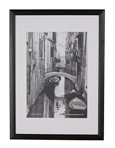 The Photo Album Company - Cornice portafoto 59 x 84 cm, formato A1, legno nero opaco