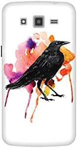 The Racoon Lean The Crow's Colours hard plastic printed back case / cover for Samsung Galaxy Grand