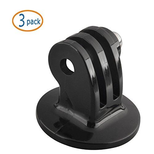 WOVTE® Black Tripod Mount Adapter for GoPro Camera HERO - 3