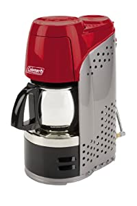 Coleman Portable Propane Coffeemaker with Stainless Steel Carafe by Coleman