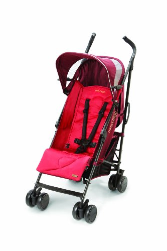 Baby Cargo 200 Series Lightweight Umbrella Stroller, Pomegranate/Cherry