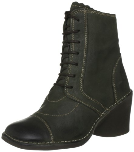 Fly London Women's Epal Green Lace Ups Boots P801196004 3 UK