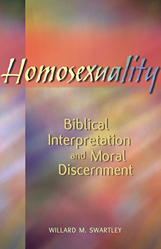 Homosexuality: Biblical Interpretation and Moral Discernment PDF