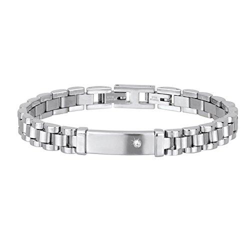 bracciale-2-jewels-in-acciaio-linea-my-president