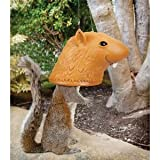 Toy / Game Accoutrements Super Big Head Squirrel Feeder With A Goofy Expression - Perfect For Birdwatchers