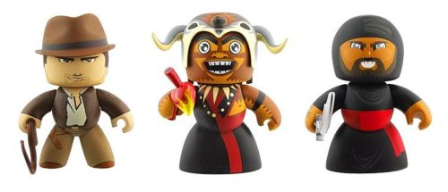 Indiana Jones Mighty Mugg Series 1 Set (Indiana Jones, Cairo Swordsman, Mola Ram)