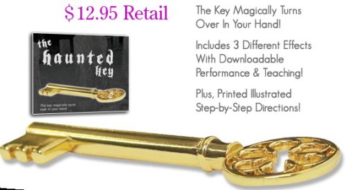 The Haunted Key - Magically Turns Over in Your Hand