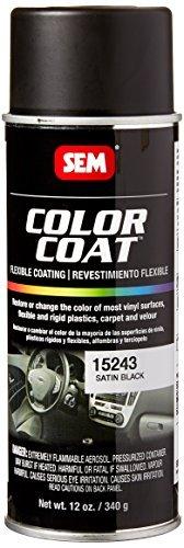 SEM Products 15243 Satin Black Color Coat - 12 oz. by Sem Products (Sem Color Coat Satin Black 15243 compare prices)