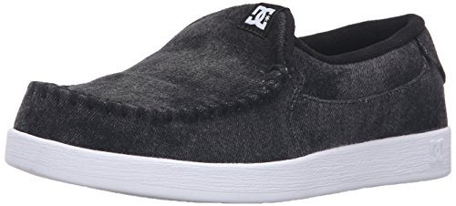 DC Men's Villain TX Skateboarding Shoe, Black Acid, 11 M US