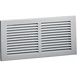 Wall return grille white 14 x 6 heating vents for 14x6 floor register