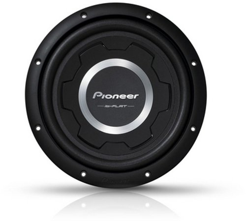 Pioneer TS-SW2501S2 Flach-Subwoofer (1200 Watt,