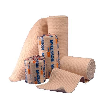 Elastic Bandage Medi-PakTM Elastic Knit 6 Inch X 5 Yard NonSterile - 50 Per Case hospital specialty company sontara creped blue wiper 12 x 12 inch 100 wipers per polybag 10 polybags per case