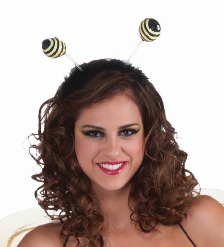 Forum Novelties Sequin Bumble Bee Antenna Costume Headband