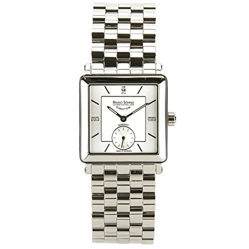 Bruno Soehnle Women's Quartz Watch Analogue Display and Stainless Steel Strap 17-13120-292
