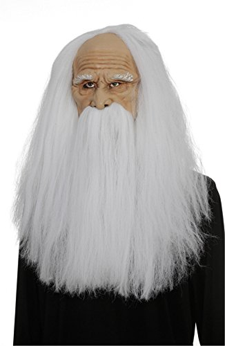 Hair  (Old Wizard Costume)