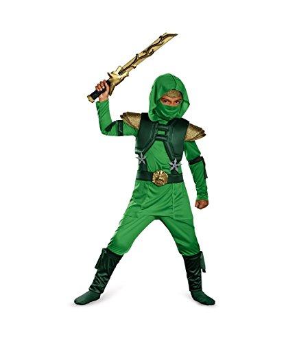Delux (Fire Ninja Toddler Costume)