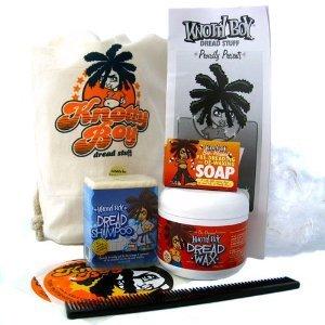 Knotty Boy Starter Kit with Light Wax 4 pc (Knotty Boy Dreadlock Starter Kit compare prices)