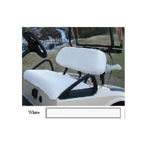 Two Piece Golf Cart Seat Covers ( Club Car Golf Car 2000 to Present) (EZ GO Golf Cars)