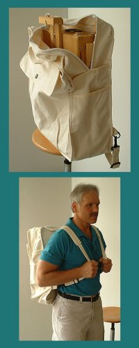 Backpack for Full French Box Easels