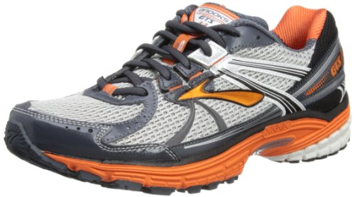Brooks Mens Adrenaline GTS 13 M Running Shoes Obsidian/Brilliant Blue/Dark Navy/White/Black Regular