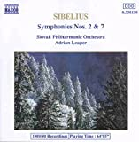 Sibelius Sinfonien 2 und 7 Leaper