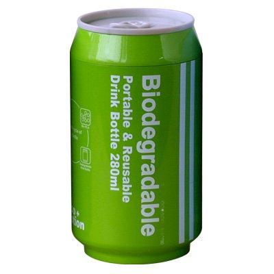 Biodegradable+バイオディグレーダブル+ポータブル+ドリンクボトル+[+グリーン+]