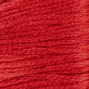 DMC (321) Six Strand Embroidery Cotton 8.7 Yard Red By The Each