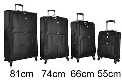 Aerolite® New Version Super Lightweight World Lightest 4 Wheel Spinner Suitcase Trolley Cases Bag Luggage 9971