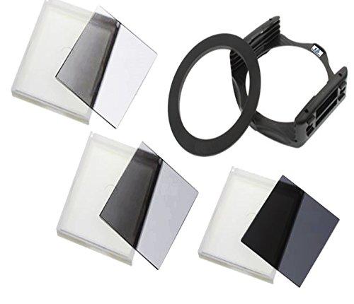 equipster Resin Graufilter / Neutraldichtefilter Set ND2 / ND4 / ND8 für Tokina 11-16mm 2.8 AT-X Pro DX II [Sony Alpha]