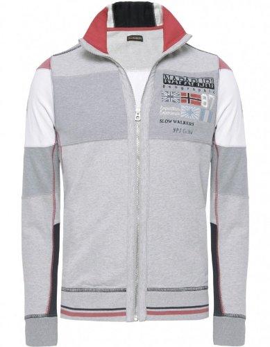 Napapijri Men's Sweater Grey Brilva Sweatshirt M