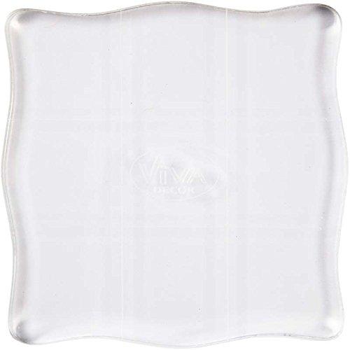 viva-decor-blocco-acrilico-per-timbro-10-x-10-cm-colore-trasparente
