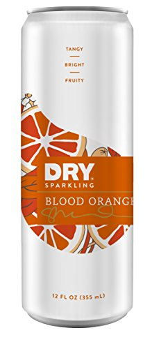 DRY Sparkling Can, Blood Orange, 12 Count (Dry Blood Orange Soda compare prices)