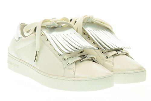 Michael Kors Sneaker Keaton Kiltie Sneaker Optic White Silver 39