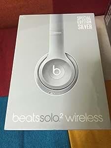 Beats by Dr.Dre Solo2 Wireless 密閉型ワイヤレスオンイヤーヘッドホン Bluetooth対応 BT ON SOLO2 WIRELS シルバー [並行輸入品]