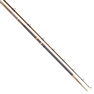Tica UNMB13MH2 Casting Fishing Rod (Medium Heavy, 13-Feet, 2-Piece, 40- 60-Pound) by TICA
