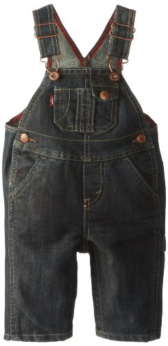 Levi's Baby-Boys Newborn Overall With Snappy