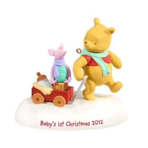 Baby's First Christmas - Winnie the Pooh - Hallmark 2012 - 1