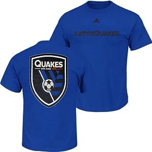 San Jose Earthquakes Adidas MLS Primary One T-Shirt 2XL by adidas