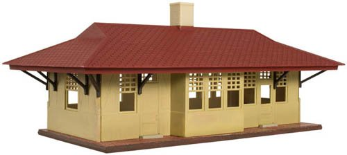 Atlas Model Railroad HO KIT Trainman Branch Line Station