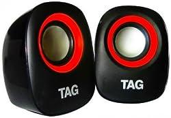 TAG Mini Multimedia Speaker 2.0 - DP-50 (Red)