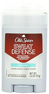 Old Spice, Sweat Defense, Solid Antiperspirant & Deodorant, Pure Sport, 2.6-Ounce Sticks (Pack of 4)