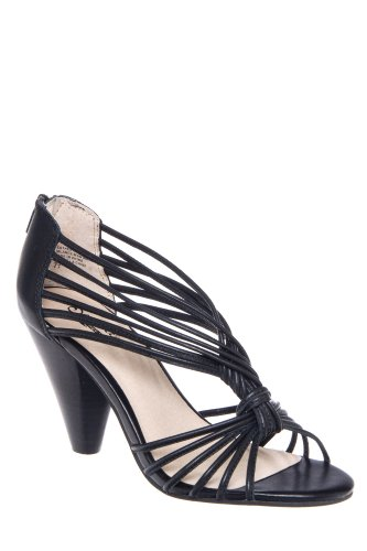 Menace High Heel Caged Strappy Sandal