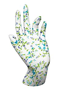 Malcolm's Miracle Moisture Jamzz Moisturizing Gloves - Made in the USA with Biodegradable Packaging Floral Pattern!